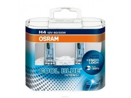 Комплект ламп Osram H1 12V 55W COOL BLUE INTENSE (2шт)